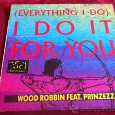 Discos de vinilo: WOOD ROBBIN - (EVERYTHING I DO) . MAXI SINGLE. POWER BROTHER GERMANY 1991. Lote 29215457