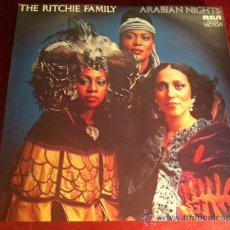 Discos de vinilo: THE RICHIE FAMILY . ARABIAN NIGHTS. LP . RCA VICTOR AUSTRALIA. 1976. Lote 29218674