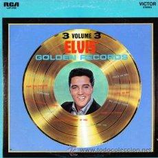 Disques de vinyle: ELVIS GOLDEN RECORDS VOL 3 - 1963/72 REEDICIÓN ESPAÑOLA 1986 - NUEVO CON UNA SOLA ESCUCHA -IMPECABLE. Lote 29220033