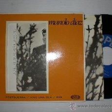 Discos de vinilo: MANOLO DIAZ.- POSTGUERRA. EP SONOPLAY 1967. 1ª EDICION PORTADA/ALBUM, NUEVO, VER FOTOS. Lote 29220438
