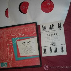 Discos de vinilo: CHARLES GOUNOD -FAUST CAJA 4 LP MAS LIBRETO 1967 SPA NICOLAÏ GEDDA*, VICTORIA DE LOS ANGELES, AND. Lote 29222171
