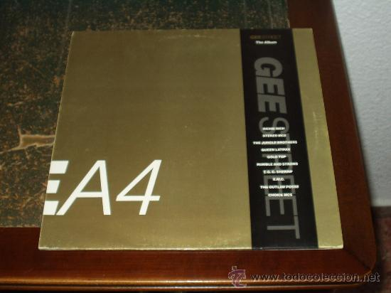 GEE STREET THE ALBUM LP (VARIOS ARTISTAS) HIP HOP INGLES (Música - Discos - LP Vinilo - Rap / Hip Hop)