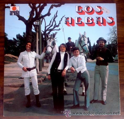 LOS ALBAS (ARIOLA-1971) LP (Música - Discos - LP Vinilo - Grupos Españoles 50 y 60)
