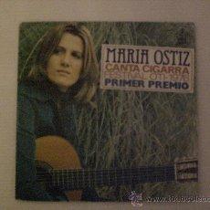 Discos de vinil: MARIA OSTIZ. CANTA CIGARRA. FESTIVAL OTI. SINGLE 1976. EXCELENTE EN LIQUIDACION VER MAS INFORMACION. Lote 29223427