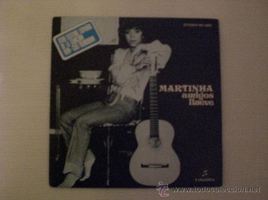 MARTINHA. AMIGOS. FESTIVAL BENIDORM. SINGLE PROMOCIONAL COLUMBIA 1976. EXCELENTE ESTADO OFERTA (Música - Discos - Singles Vinilo - Otros Festivales de la Canción)