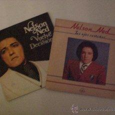 Discos de vinilo: NELSON NED. TUS OJOS...VUELVE. LOTE 2 SINGLES 1980 EXCELENTE ESTADO. Lote 29225510