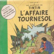 Discos de vinilo: LP HERGE & TINTIN : L´AFFAIRE TOURNASOL - NARRACION EN FRANCES . Lote 29226485