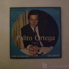 Discos de vinilo: PALITO ORTEGA. TODO ES MENTIRA. SINGLE RCA 1967 EXCELENTE ESTADO EN LIQUIDACION. Lote 29226731