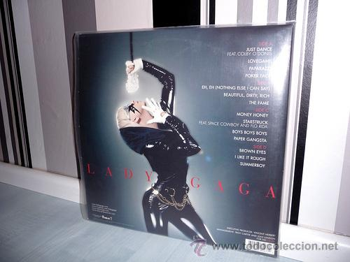 Discos de vinilo: LADY GAGA The Fame LP VINILO (USA, 2008) - Foto 2 - 29227379