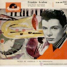 Discos de vinilo: FRANKIE AVALON - GINGER BREAD // BLUE BETTY // TE ESPERARE // EP 1959 SPAIN. Lote 29228791