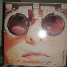 Discos de vinilo: LP DE PET SHOP BOYS AÑO 1989. Lote 29231309