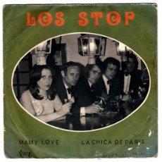 Discos de vinilo: LOS STOP – MAMY LOVE / LA CHICA DE PARIS – SN SPAIN 1974 – VICTORIA S.S.- 157. Lote 29231423