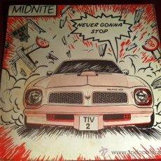 Discos de vinilo: MIDNITE - NEVER GONNA STOP . MAXI SINGLE . SPLASH RECORDS ESPAÑA. 1983. Lote 29232877