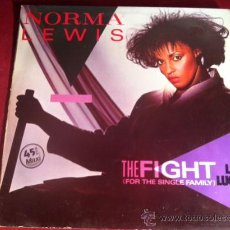 Discos de vinilo: NORMA LEWIS - THE FIGHT . MAXI SINGLE. DISCOS VICTORIA ESPAÑA. 1984. Lote 29233829