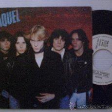 Discos de vinilo: RAQUEL, LA NOCHE ENTERA, SINGLE PROMOCIONAL CBS 1981, NUEVO A ESTRENAR. Lote 29234004