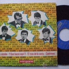 Discos de vinilo: LOS SIREX, LA ESCOBA EP VERGARA 1965, MUY BIEN. Lote 29237394