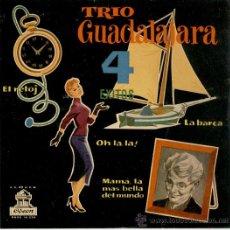 Discos de vinilo: TRIO GUADALAJARA / HO LA LA / MAMA, LA MAS BELLA DEL MUNDO+2 / EP 1958// EX-EX. Lote 29241368