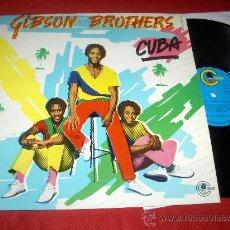 Discos de vinilo: GIBSON BROTHERS CUBA LP 1979 CARNABY EDICION ESPAÑOLA. Lote 29244754