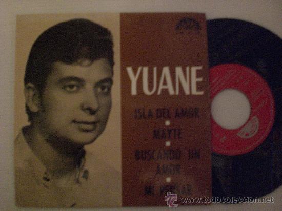 YUANE, ISLA DE AMOR + 3 EP BERTA 1974, PROMOCIONAL RARO NUEVO A ESTRENAR. (Música - Discos de Vinilo - EPs - Solistas Españoles de los 70 a la actualidad)