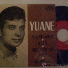 Discos de vinilo: YUANE, ISLA DE AMOR + 3 EP BERTA 1974, PROMOCIONAL RARO NUEVO A ESTRENAR.. Lote 29246333