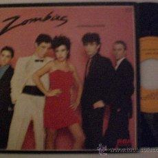 Discos de vinilo: ZOMBIES, LA MURALLA CHINA MOVIDA SINGLE RCA 1981 NUEVO CON ENCARTE DE LETRAS. Lote 29246396