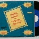 Discos de vinilo: CONJUNTOS LOS BROTHERS LOPEZ, BRILLANTS Y LOS SETSON CON KARLO, EP BARNAFON MUY RARO, VER FOTOS. Lote 45058640
