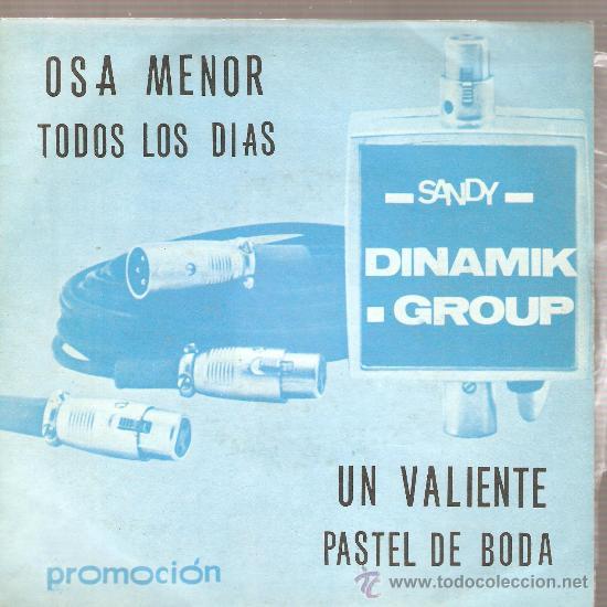 EP DINAMIK GROUP : OSA MENOR + 3 (Música - Discos de Vinilo - EPs - Grupos Españoles de los 70 y 80)
