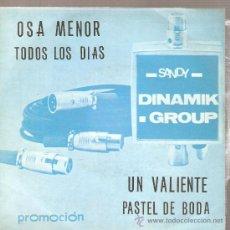 Discos de vinilo: EP DINAMIK GROUP : OSA MENOR + 3 . Lote 29268751