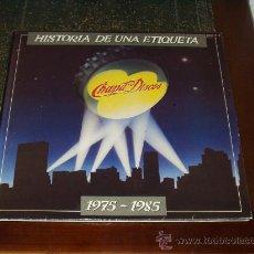 Discos de vinilo: HISTORIA DE UNA ETIQUETA DOBLE LP (BLOQUE.BORNE,CRACK,LEÑO,ÑU,PANZER,SANTA,TAPIMAN,PARACELSO...). Lote 29274806