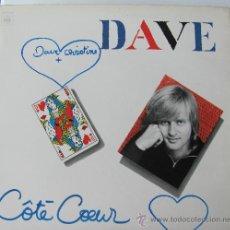 Discos de vinilo: DAVE - COTE COEUR - LP 1979. Lote 29274939