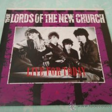 Discos de vinilo: THE LORDS OF THE NEW CHURCH ( LIVE FOR TODAY - OPENING NIGHTMARES ) 1983-HOLANDA SINGLE45 ILLEGAL. Lote 29276225