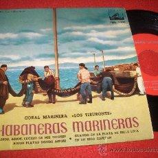 Discos de vinilo: CORAL MARINERA LOS TIBURONES HABANERAS MARINERAS 7