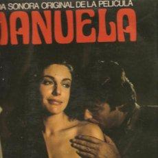 Discos de vinilo: LP MANUELA: TEMAS DE GUALBERTO, LOLE Y MANUEL, GOMA, GRANADA, TRIANA, BENITO MORENO, ETC. Lote 29277982