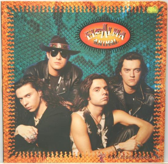 EL ALMA ANIMAL LP HISPAVOX 1991 (Música - Discos - LP Vinilo - Grupos Españoles de los 90 a la actualidad)