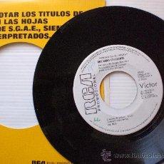 Discos de vinilo: COCCIANTE LALBA SINGLE PROMOCIONAL 1975 SEMINUEVO DISCOGRAFICA LIQUIDACION VER + INFORMACION. Lote 29281754