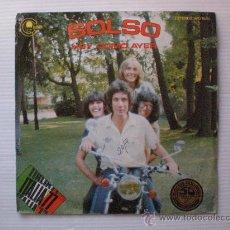 Discos de vinilo: SOLSO, HOY COMO AYER, FESTIVAL SAN REMO, SINGLE CARNABY 1977, PROCIONAL EXCELENTE ESTADO. Lote 117367918