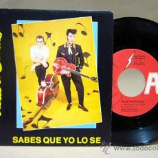 Discos de vinilo: DISCO, VINILO, SINGLE, ROCK AND BORDES, SABES QUE YO LO SE, 90 PFM 20 B, LA FABRICA MAGNETICA. Lote 29290466
