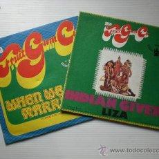 Discos de vinilo: 1910 FRUITGUM CO INDIAN GIVER - WHEN WE GET MARRIED, LOTE 2 SINGLES 1969 NUEVOS A ESTRENAR. Lote 29290627
