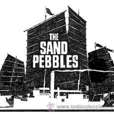 Discos de vinilo: EL YANGTSÉ EN LLAMAS - THE SAND PEBBLES - JERRY GOLDSMITH - LIONEL NEWMAN - STEVE MCQUEEN-NUEVO-1990. Lote 29292960