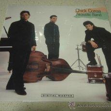 Discos de vinilo: CHICK COREA ( AKOUSTIC BAND ) NEW YORK-USA 1989 LP33 GRP RECORDS. Lote 29299494