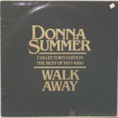 Discos de vinilo: DONNA SUMMER THE BEST OF 1977-1980 LP PYE RECORDS 1980. Lote 29300141