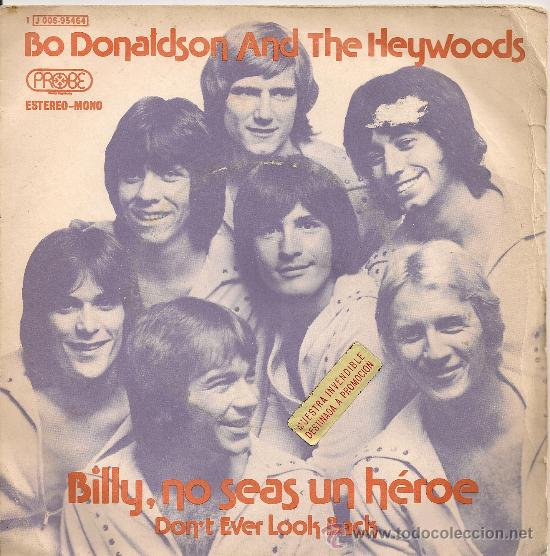 bo donaldson and the heywoods - billy, no seas - Buy Vinyl Singles ...