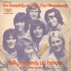 bo donaldson and the heywoods - billy, no seas - Buy Vinyl Singles Pop-Rock  International of the 70s at todocoleccion - 29305168