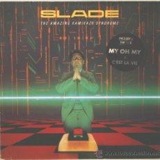 Discos de vinilo: SLADE THE AMAZING KAMIKAZE SYNDROME LP RCA EDICION ALEMANA 1983. Lote 29305832
