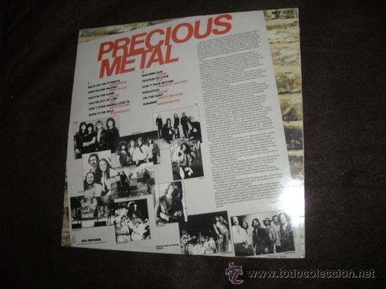 Discos de vinilo: MOORE..WISHBONE ASH.SKYNYRD.STEPPENWOLF LP PRECIOUS METAL MCA 198O ENGLAND - Foto 2 - 29310630