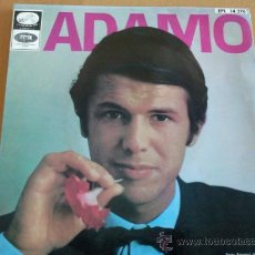 Discos de vinilo: ADAMO EP 1967 LA VOZ DE SU AMO. Lote 29316759