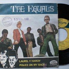 Discos de vinil: THE EQUALS, LAUREL Y HARDY, SINGLE PRESIDENTET SPAIN, 1968 EN LIQUIDACION VER MAS INFORMACION. Lote 29330194