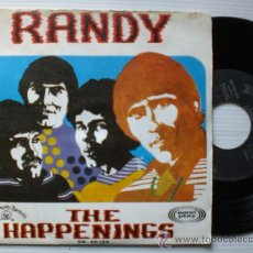 Discos de vinilo: THE HAPPENINGS, RANDY SINGLE SONOPLAY 1968 RARO, EXCELENTE ESTADO VER FOTOS EN OFERTA. Lote 29331833