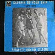 Discos de vinilo: REPARATA AND THE DELRONS // CAPTAIN OF YOUR SHIP - TOOM TOOM // AÑO 1968. Lote 29334735