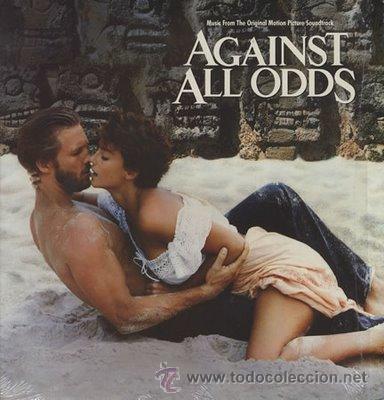 CONTRA TODO RIESGO - AGAINST ALL ODDS - JEFF BRIDGES/RACHEL WARD/JAMES WOODS -M. COLOMBIER (Musik - Vinyl-Schallplatten - LP - Soundtracks und Musik von Schauspielern)
